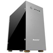 航嘉 冷静王-冰河/银  铝制个性机箱(大侧透/USB3.0/人性化挂件/全兼容SSD)