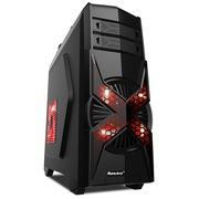 航嘉 新概念游戏机箱 第六元素/黑(USB3.0/背部走线/长显卡/全兼容SSD)