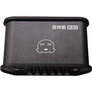 客所思 K30声卡(黑) USB外置声卡 网络K歌 录音主持喊麦 48V独立供电