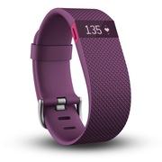 Fitbit Charge HR 智能乐活心率手环 心率实时监测 自动睡眠记录 来电显示 运动蓝牙手表计步器 紫色 S