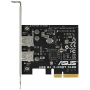 华硕 USB 3.1 2-PORT CARD 扩展卡 (USB 3.1 Type-A 10Gb/s)