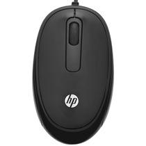 惠普  FM110黑色有线鼠标产品图片主图