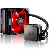 酷冷 海神120V V3 PLUS  双风扇CPU水冷散热器(多平台/一体水冷/静音/高效水冷泵产品图片主图