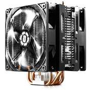 酷冷 暴雪T4PLUS 双风扇CPU散热器(多平台/4热管/PWM温控/静音风扇/附带硅脂)