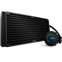 NZXT Kraken X61 海妖X61 (一体式水冷散热器、更多的散热面积、整合LED灯效与数位风扇控制)产品图片主图