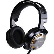硕美科 G926 毒蜂 头戴式 游戏耳机 免驱动 HiFi级电脑耳麦 定位精准 黑色