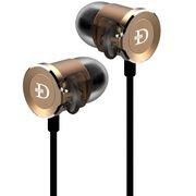 达音科  DN2000 三单元圈铁耳机入耳式 金色
