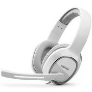 漫步者 K815 高音质立体声通讯游戏耳麦 游戏耳机 电脑耳机 白色