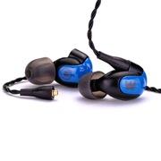 w40 W4R升级版 四动铁单元三分频 hifi级入耳式耳机 带麦可通话 威士顿