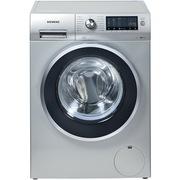 西门子 WM14S4670W 8公斤 变频滚筒洗衣机 3D正负洗(缎光银)