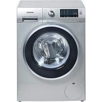 西门子 WM14S4670W 8公斤 变频滚筒洗衣机 3D正负洗(缎光银)产品图片主图