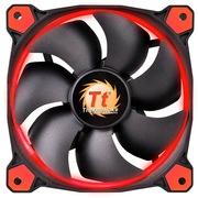 Thermaltake Riing 14厘米LED红色风扇(液压轴承/强化减震系统/独特静音技术/降噪控制线/LED导光圈)