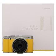 富士 X-A2 微单电套机(XF27)礼盒装 沁拧黄 APS-C 自拍翻转屏 WiFi功能 XA2时尚复古