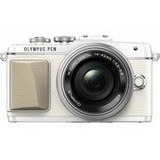 奥林巴斯 E-PL7-14-42mmEZ白+40-150mmR银 白色双头套装 焦段更全 出游更方便