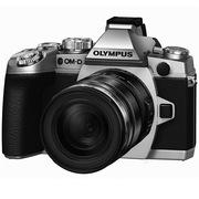 奥林巴斯  OM-D E-M1(12-50mm)EZ 微型单电套机 银色(赠16G卡 1630万像素 翻转触摸屏 WiFi)