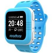读书郎 W2 智能手表 蓝色 儿童电话手表 GPS定位防丢失手环 360智能防护安全电话手表手机