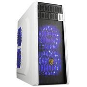 撒哈拉 穿越G5 台式电脑游戏机箱 白色 (0.7mm板材/U3/支持ATX大板/支持水冷/支持玄冰400)