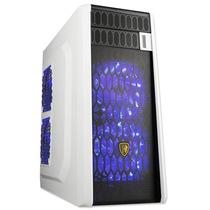 撒哈拉 穿越G5 台式电脑游戏机箱 白色 (0.7mm板材/U3/支持ATX大板/支持水冷/支持玄冰400)产品图片主图