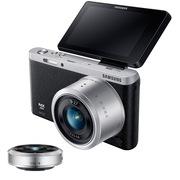 三星  NX mini 微型单电双镜头套装(9mm )/(9mm-27mm) 黑色