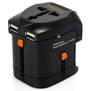 包尔星克  PWC-ETRUN03 万用电源转换器 双USB
