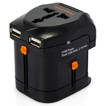 包尔星克  PWC-ETRUN03 万用电源转换器 双USB产品图片主图