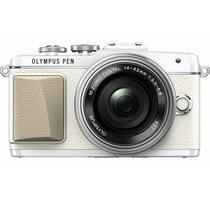 奥林巴斯 E-PL7-1442-EZ 白色 电动饼干镜头套装 超薄镜头 可翻转触摸屏 新一代自拍小七 全新上市产品图片主图