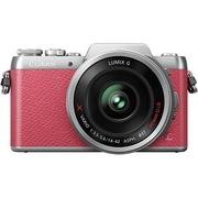 松下 Lumix DMC-GF7 微型单电单镜套机 粉色 电动变焦版 自拍利器(14-42mm GF6升级版微单 DMC-GF7XGK-P)