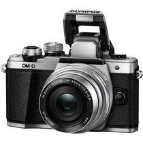 奥林巴斯 E-M10 MarkII-1442EZ 电动镜头 银色(5轴防抖 内置WiFi 电子快门 高速视频)产品图片主图