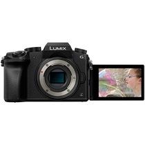 松下 Lumix DMC-G7 微型单电机身 黑色(DMC-G7GK-K)产品图片主图