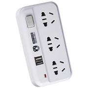 拳王 QW-P16USB 一转三 USB 总控开关 电源插转换器