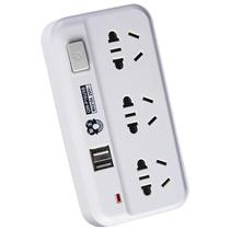 拳王 QW-P16USB 一转三 USB 总控开关 电源插转换器产品图片主图