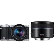 三星 NX300双镜套机 微单电智能相机 黑色双头套机(18-55+45mm3D镜头)