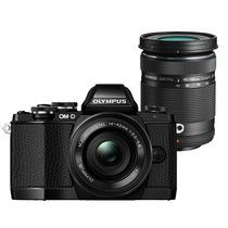 奥林巴斯  OM-D E-M10 酷炫限量双头套机(14-42mm电动镜头+40-150mm远摄镜头) 黑色产品图片主图