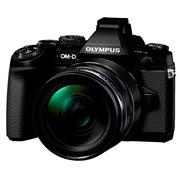 奥林巴斯  OM-D E-M1(12-40mm)PRO 微型单电套机 黑色(1630万像素 可翻转触摸屏 内置WiFi)