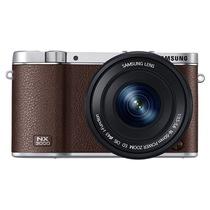 三星  NX3000 微型单电双镜头套装 (50mm-200mm )/(16mm-50mm) (棕色)内附16G卡产品图片主图