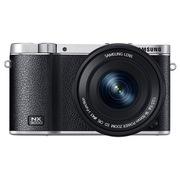 三星  NX3000 微型单电双镜头套装 (50mm-200mm )/(16mm-50mm) (黑色)内附16G卡
