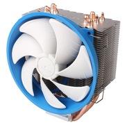 乔思伯 HT512 多平台CPU散热器 (5热管/12CM风扇/金属扣具/可调速风扇/附带硅脂)