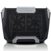 酷冷  SF-19 笔记本散热垫 (游戏玩家专用/超大双静音风扇/支持19寸笔记本/7色LED) 黑色