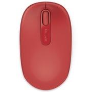 微软  无线便携鼠标1850 火焰红