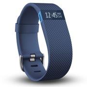 Fitbit Charge HR 智能乐活心率手环 心率实时监测 自动睡眠记录 来电显示 运动蓝牙手表计步器 蓝色 S