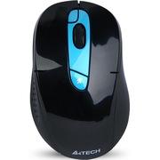 双飞燕 G11-570FX 可充电无线鼠标 锂电池笔记本游戏鼠标 孔雀蓝