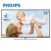 飞利浦 55PUF6650/T3 55英寸 4K护眼(舒视蓝、抗蓝光) 8核智能 LED液晶电视(黑色)