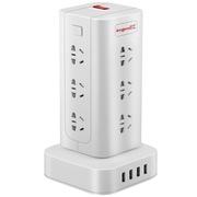 良工 XD-U1012U带USB插线板 拖线板 插座 插排 分控开关 多层手提系列