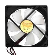 Thermaltake  12cm机箱散热风扇/AF0068 黑框白叶1000转静音 大4pin接电源不占主板