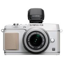 奥林巴斯 E-P5-1442-2RVK白色套机 (VF-4电子取景器 五轴防抖 可翻转屏 WIF无线分享)产品图片主图