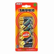 南孚 5号电池聚能环碱性12粒装 LR6无汞环保AA干电池 (适用于血压计/血糖仪/电动玩具)