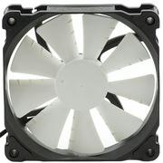 追风者 PH-F120XP_BK 12CM电脑机箱 散热器风扇 PWM智能温控高风压 大风量 低噪音 黑框白叶