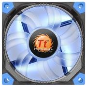 Thermaltake  Luna 8cm蓝光减震风扇(液压轴承/强化减震/双叶弧形扇叶/静音技术/3Pin/大4Pin通用)
