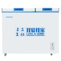 奥马 BCD-161 161升 一级能效 卧式 双温冷柜产品图片主图