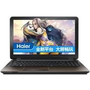 海尔 S531 15.6寸超薄游戏本(Skylake i7-6500U 4G 500G+64G SSD GT940M 2G独显 1080P AC3165)咖啡金